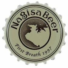 NAGISA BEER * JAPANESE BEER * CROWN JAPAN BEER BOTTLE CAP * FOR COLLECTOR