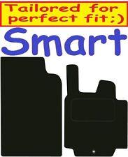 Qualità Su Misura Deluxe Tappetini auto Smart per due 2007-2014 ** NERO **