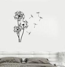 Vinyl Decal Dandelion Flower Floral Room Decoration Wall Stickers (ig3356)