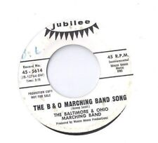 BALTIMORE & OHIO MARCHING BAND Happy Wanderer 45 RECORD SOUL MOD GARAGE DJ