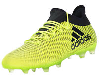 adidas Men's X 17.2 FG Firm Ground Football Boots Yellow / Black