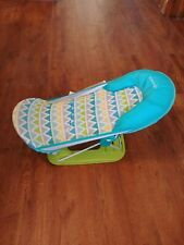 Summer Infant (9580) Deluxe Baby Bather - Blue folding bath sling