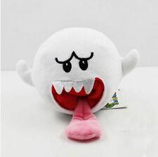 "Nintendo Super Mario Bros. Plush Boo Ghost Soft Toy Stuffed Animal Doll 6"" US"