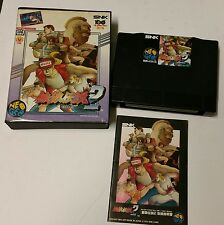 IMPORT JAPANESE FATAL FURY  2 FOR THE NEO GEO AES CONSOLE