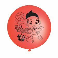 Jake & Neverland Pirates Latex Punchball Balloons 4pk - Disney Birthday Party