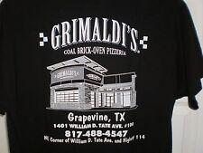 Grimaldi's Pizza / Grapevine Texas T-Shirt L w/ Mille Gradi Wine Key & Pen Set