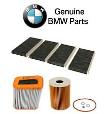 BMW E90 E92 M3 08-10 Engine Oil Filter and Air and Cabin Air Filters Genuine Kit