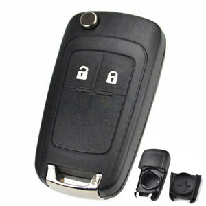 To Suit Holden Barina/Cruze/Trax 2 Button Remote Flip Key Blank Shell/Case