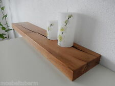 Wandboard Eiche Massiv Holz Board Regal Steckboard Regalbrett NEU auch auf Maß !