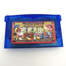 27 in 1 Multicart Game Card Cartridge For Nintendo GBA/GBA SP/NDSI/NDSL-EG007