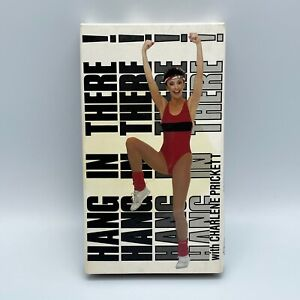Charlene Prickett Workout VHS Tape Hang In There! Aerobic Tested 45 min Run Time