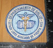 Departamento De Salud Estado Libre Asociado De Puerto Rico Cloth Patch Only