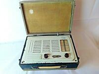 Vintage Vidor CN 420 Portable Radio 1950s Untested