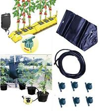 PLANT GRAVITY WATERING SYSTEM INSTANT DRIP IRRIGATION GREENHOUSE HOME FULL KIT