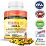 Vitamin D3 5000 IU ✔Reduces Depression ✔Healthy Bones and Muscle ✔60 days Supply