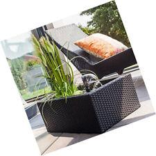 Heissner 015195-00 Rattan Water Garden - Black