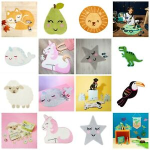Rugs Children's Nursery Bedroom - Playroom Rug Carpet Mats Kids - Animals