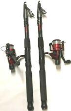 Angelrolle Kombination versenkbare Angelrute rotierende Rolle Tragbar tasche Set