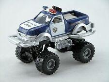 1:32 Big wheel pickup Police Car *light & Sound* (Blue) Die Cast Car Boys Toy