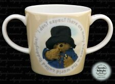 SPODE PADDINGTON BEAR NURSERY INFANTS CHILDS DOUBLE 2 HANDLED MUG CUP