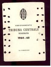 Calcio-football juventus Abbonamento 1964/65