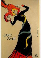 CPT012 CARTE POSTALE NEUVE thème art - H. STERN JANE AVRIL
