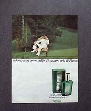 K457- Advertising Pubblicità -1975- FRESCO VICTOR