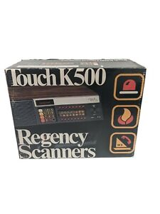 VINTAGE Regency Touch K500 Base Digital Scanner with Box and Manual *Modified*