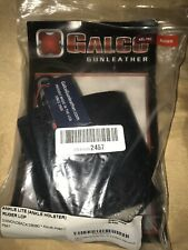 GALCO Lite Ankle Holster right handed black leather ,  Ruger Kel-Tec Diamondback