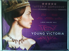 Cinema Poster: YOUNG VICTORIA, THE 2009 (Quad) Emily Blunt