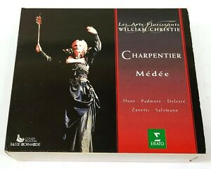 William Christie Charpentier Médée 3CD 1995 Erato 4509-96558-2 E305