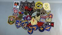 Lot Of 45 Vintage Military Medical Sheriff AD Team  Patches
