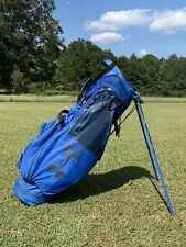 USED Under Armour Storm Matchplay By Sun Mountain Golf Stand Bag BLUE/BLACK