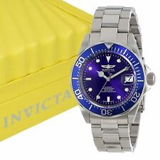 INVICTA Mens 9094 Pro Diver Collection Blue Dial Automatic Stainless Steel Watch