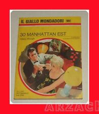 GIALLO MONDADORI 1094 Trenta Manhattan est WAUGH