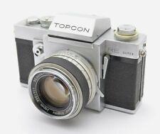 Topcon RE Super SLR-Kamera, Auto-Topcor 1,8 / 5,8 cm 58mm Kit Lens Objektiv k49