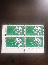 New listing Mint Canadian Stamp LL block, Scott's # 834 MNH, womens field hockey