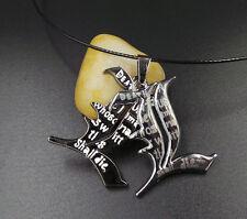 """Death Note symbol """"L"""" design double pendants metal Couple necklace Pendant Charm"""