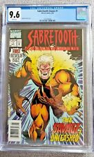Sabretooth #1 CGC graded 9.6 NM+ May 1994 Marvel Comics FIRST Spectacular issue