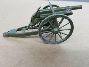 Vintage 1950's Britians Cap Firing Royal Artillery WWII Cannon Very Nice E2