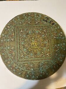 VTG Springbok 500+ Piece Circular Puzzle Nepalese Mandala 18th Century 1971