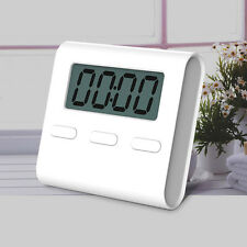 Large LCD Digital Kitchen Cooking Timer CountDown Up Clock Loud Alarm Magnetic