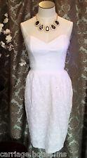 NWT $68 Urban Behavior Eyelet Dress size M