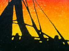ELWOOD DENIM MODERN RETRO VINTAGE GRAND CAYMAN SAILING WEEK 1978 T-Shirt Men S