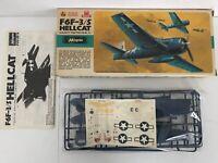 Hasegawa 1:72 Plastic Model Kit U.S.Navy F6F-3/5 Hellcat JS-159 - Complete (41)