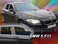 Windabweiser BMW 5er F11 5-türer 2010-2017 4tlg Kombi HEKO dunkel Regenabweiser