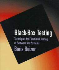 Black-Box Testing: Techniques for Functional Testing of Software and Systems, ,