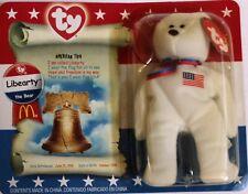 Ty Beanie Babies LIBEARTY the Bear Original 2000 McDonald's