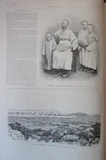 CHINE LI HONG TCHANG PORT TCHE FOO ÉVÉNEMENTS CORÉE GRAVURE L ILLUSTRATION 1894