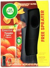 Air Wick Freshmatic Ultra Pumpkin Spice Essential Oil Automatic Sprayer & Refill